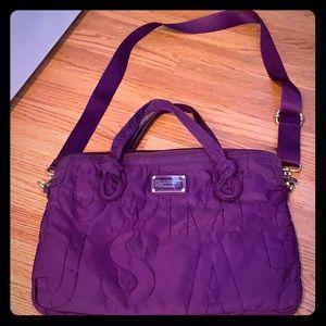 Marc by Marc Jacobs purple laptop bag
